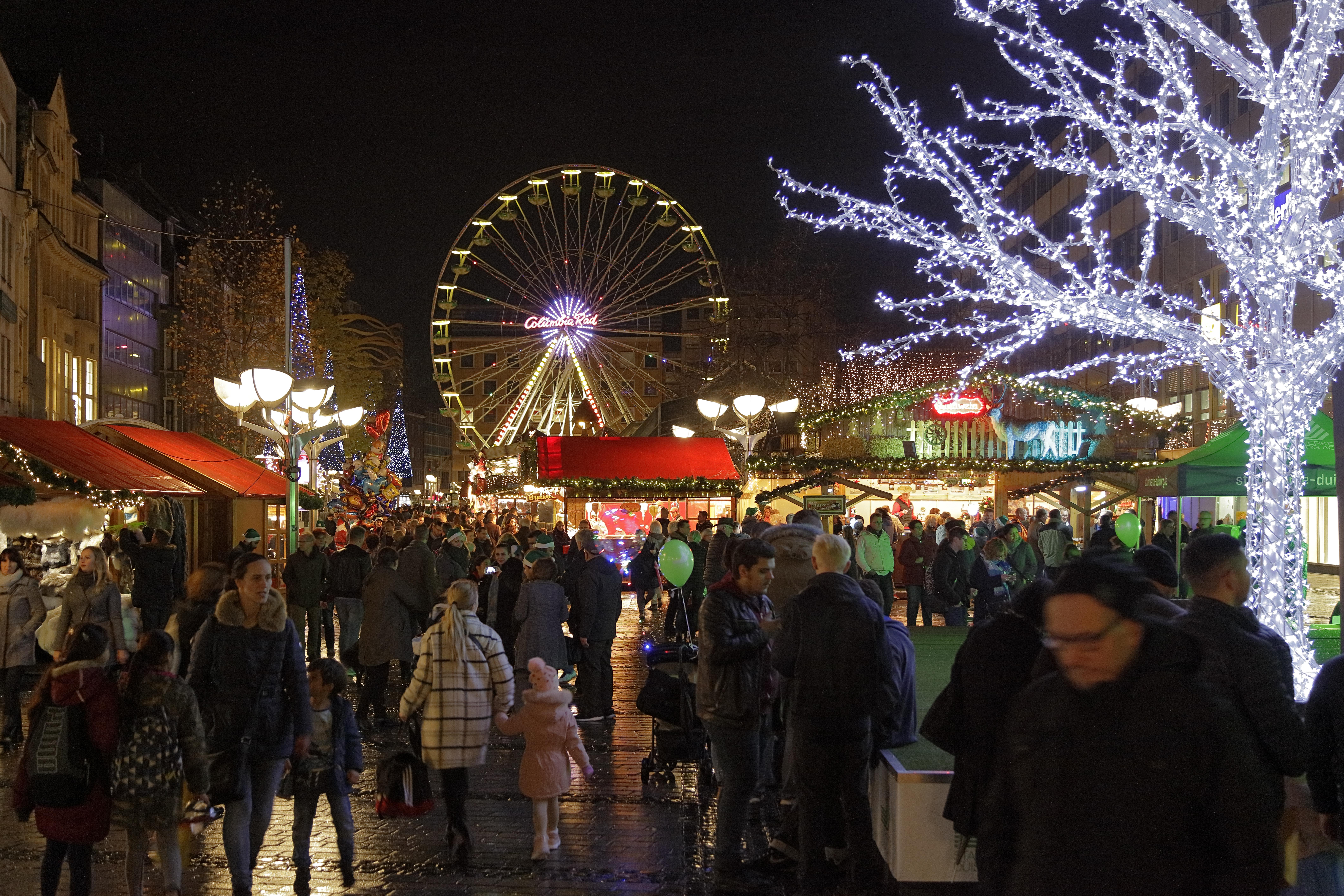 Weihnachtsmarkt Duisburger Weihnachtsmarkt