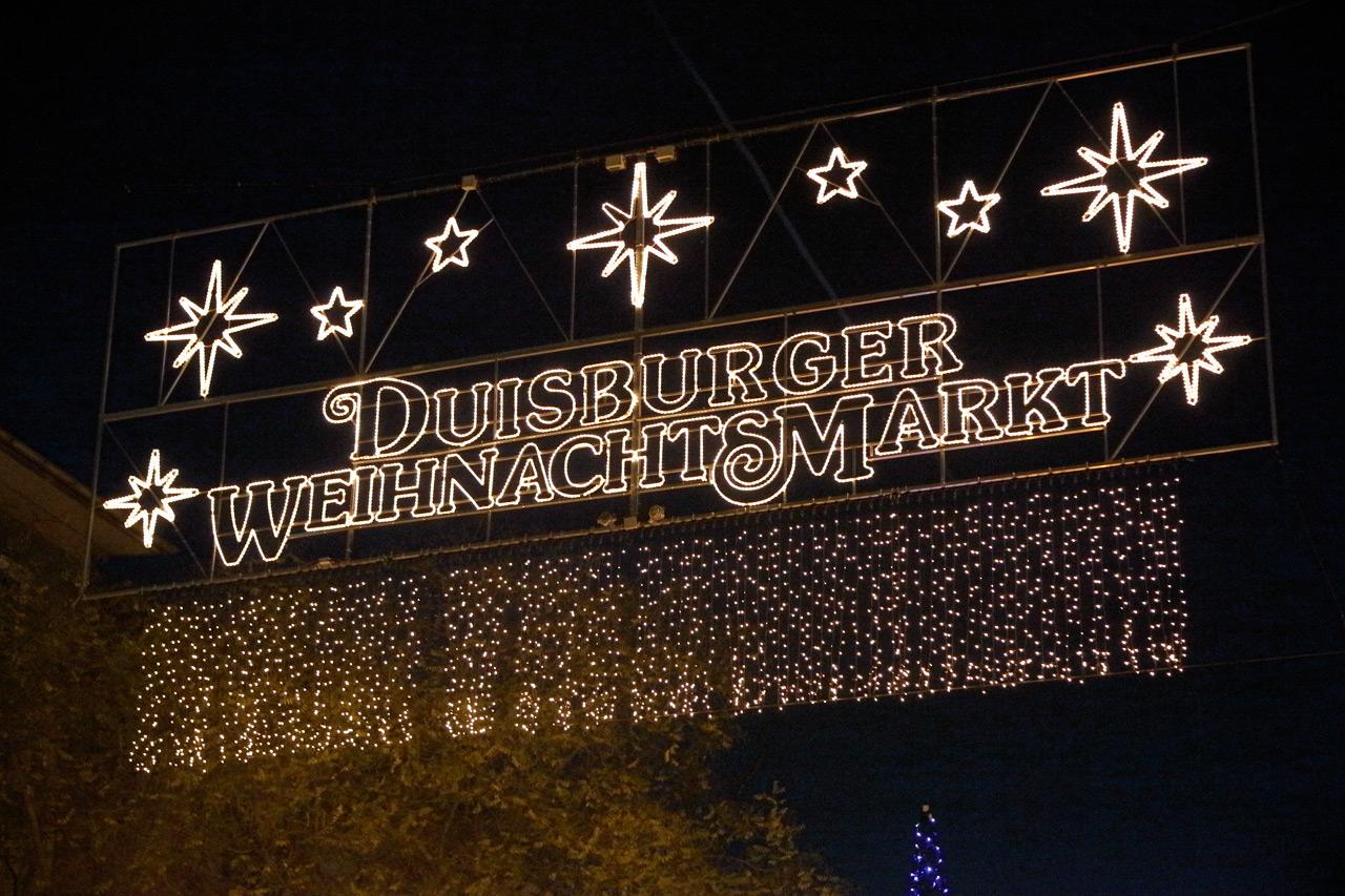 Totensonntag Weihnachtsmarkt.Weihnachtsmarkt Duisburger Weihnachtsmarkt
